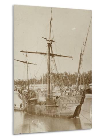 Santa Maria, Columbus' Ship--Metal Print