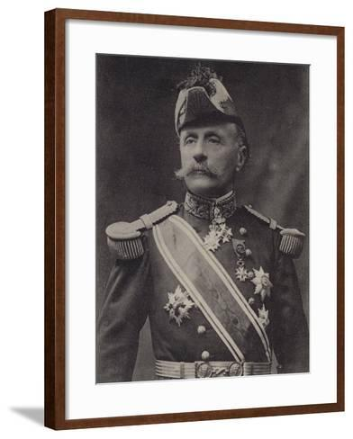 General Foch--Framed Art Print