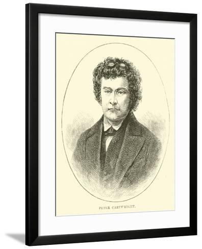 Peter Cartwright--Framed Art Print