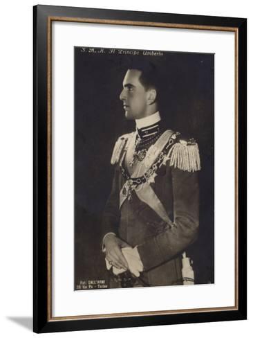 Principe Umberto--Framed Art Print