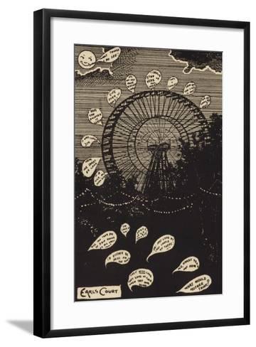 Earls Court--Framed Art Print