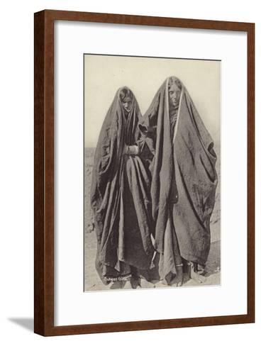 Subean Girls--Framed Art Print