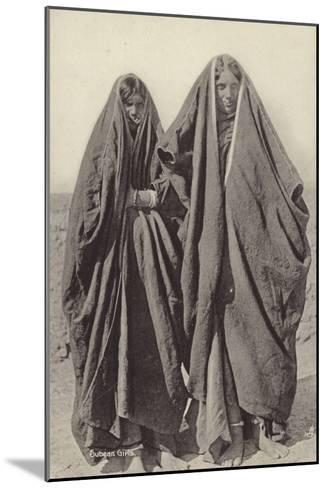 Subean Girls--Mounted Photographic Print