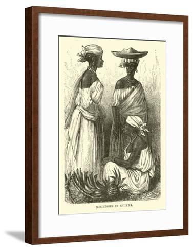 Negresses in Guiana--Framed Art Print