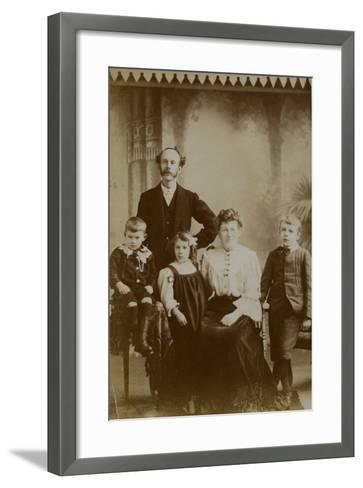 Family Portrait--Framed Art Print