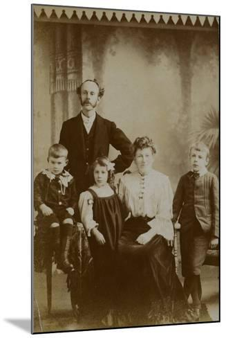 Family Portrait--Mounted Photographic Print