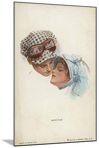 Auto Kiss--Mounted Giclee Print