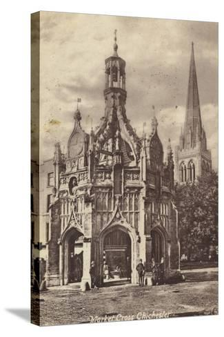 Market Cross, Chichester--Stretched Canvas Print