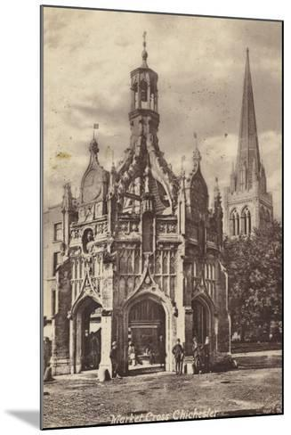 Market Cross, Chichester--Mounted Photographic Print