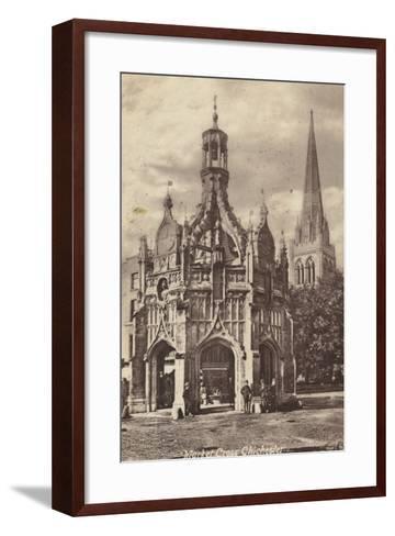Market Cross, Chichester--Framed Art Print