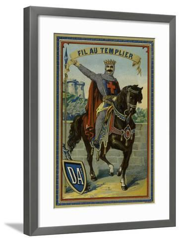 Label for Templar Thread--Framed Art Print
