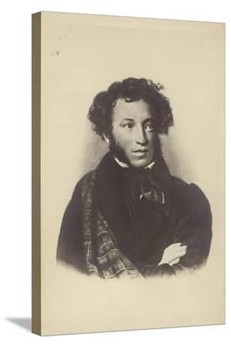 Alexander Pushkin--Stretched Canvas Print