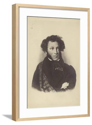 Alexander Pushkin--Framed Art Print