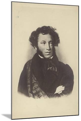 Alexander Pushkin--Mounted Giclee Print