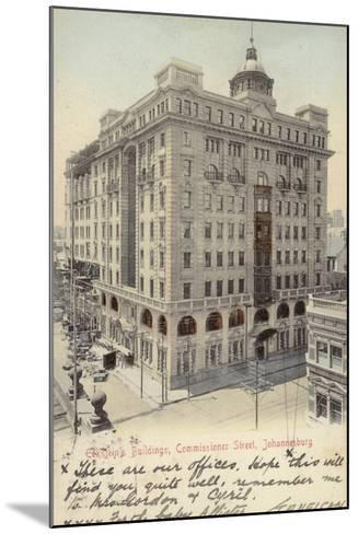 Postcard Depicting Eckstein's Buildings--Mounted Photographic Print