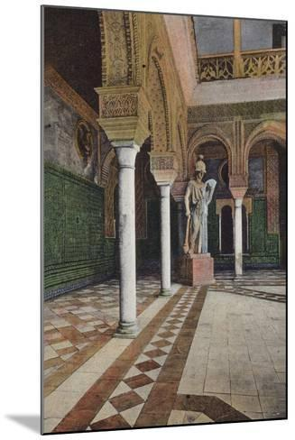 Courtyard in the Alhambra, Granada, Spain--Mounted Photographic Print