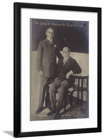 The King of the Deeps and the King of the Air--Framed Art Print