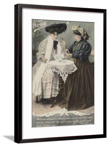 Your Fortune--Framed Art Print