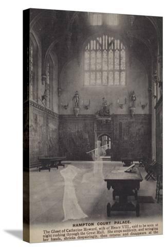 Hampton Court Palace--Stretched Canvas Print