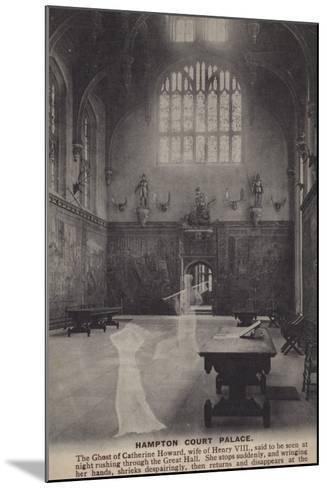Hampton Court Palace--Mounted Photographic Print