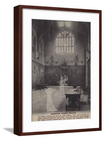 Hampton Court Palace--Framed Art Print