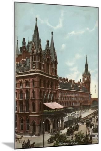 St. Pancras Station, London--Mounted Photographic Print