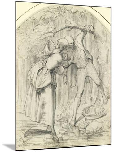 The Crossing, C.1860-John Richard Clayton-Mounted Giclee Print