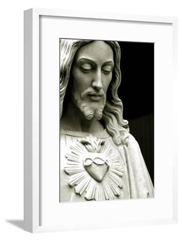 The Sacred Heart of Jesus, 19th Century--Framed Art Print