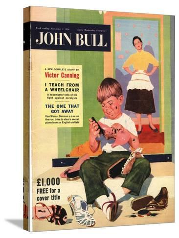 Front Cover of 'John Bull', November 1956--Stretched Canvas Print