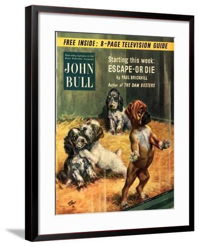Front Cover of 'John Bull', September 1952--Framed Art Print