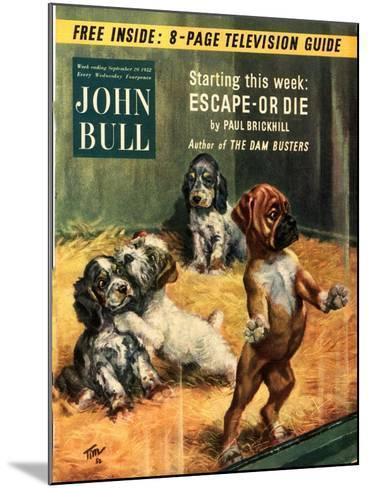 Front Cover of 'John Bull', September 1952--Mounted Giclee Print