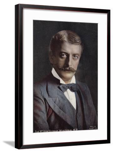 George Wyndham--Framed Art Print