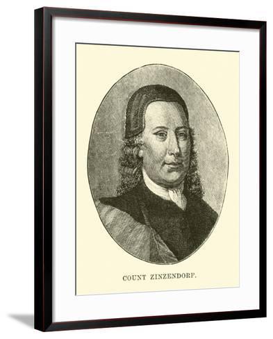 Count Zinzendorf--Framed Art Print