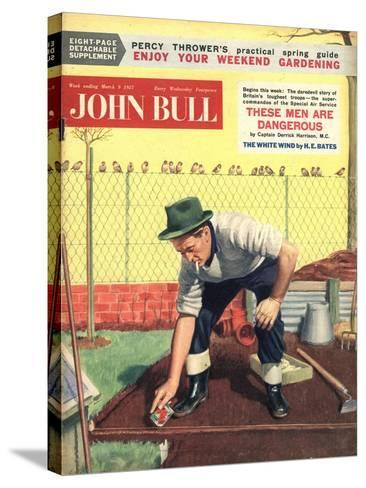 Front Cover of 'John Bull', March 1957--Stretched Canvas Print