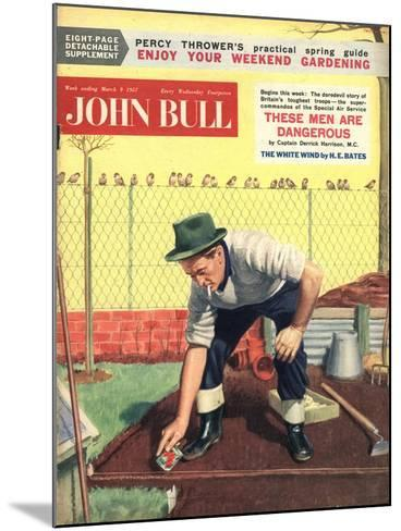 Front Cover of 'John Bull', March 1957--Mounted Giclee Print