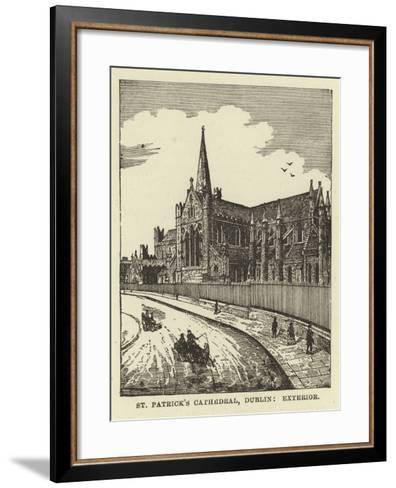 St Patrick's Cathedral, Dublin, Exterior--Framed Art Print