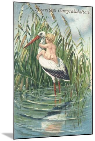 Heartiest Congratulation--Mounted Giclee Print