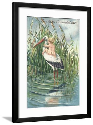 Heartiest Congratulation--Framed Art Print