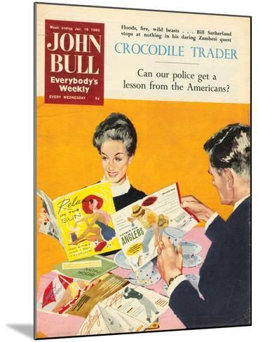 Front Cover of 'John Bull', January 1960--Mounted Giclee Print