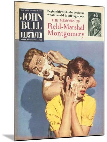 Front Cover of 'John Bull', December 1958--Mounted Giclee Print