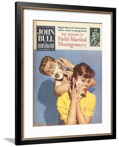 Front Cover of 'John Bull', December 1958--Framed Art Print