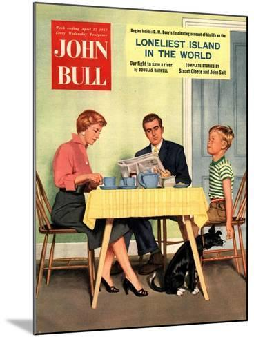 Front Cover of 'John Bull', April 1957--Mounted Giclee Print