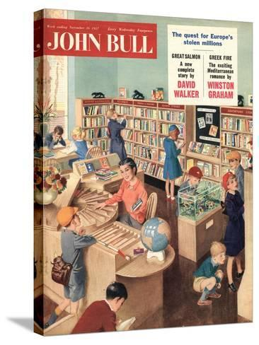 Front Cover of 'John Bull', November 1957--Stretched Canvas Print