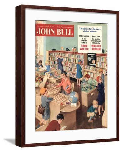 Front Cover of 'John Bull', November 1957--Framed Art Print