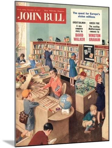 Front Cover of 'John Bull', November 1957--Mounted Giclee Print