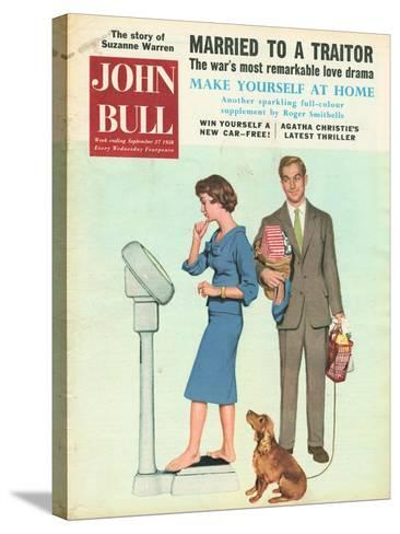 Front Cover of 'John Bull', September 1958--Stretched Canvas Print
