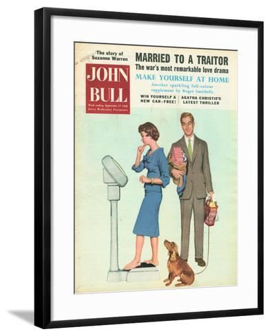 Front Cover of 'John Bull', September 1958--Framed Art Print