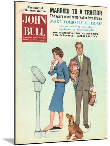 Front Cover of 'John Bull', September 1958--Mounted Giclee Print