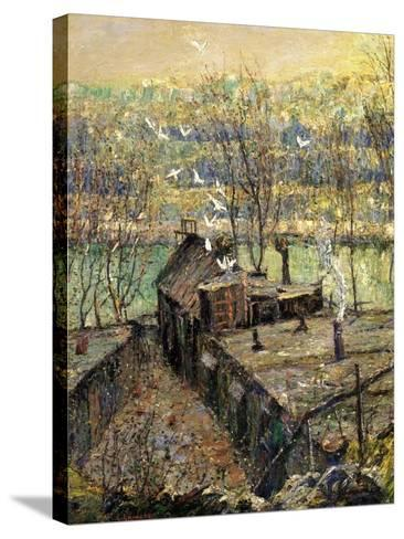 The Pigeon Coop, C.1916-Ernest Lawson-Stretched Canvas Print