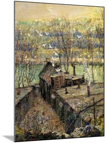 The Pigeon Coop, C.1916-Ernest Lawson-Mounted Giclee Print